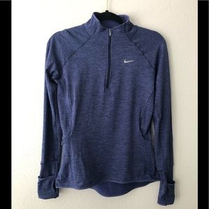Nike Dry Fit. purple  sweatshirt size Small